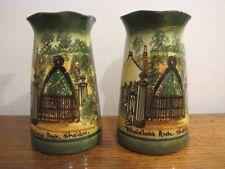 £62 Watcombe faience Vases Feb \'15