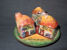 £15 Torquay pottery Cruet set Oct \'14