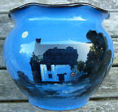 £28 Barton Pottery Moonlight Jardiniere Oct \'12
