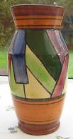 £13 Torquay Pottery Jazz Vase Sep \'12