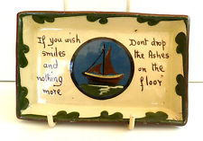 £22 Aller Vale rare tray with boat, Sep \'13