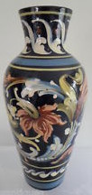 £63 Aller Vale Vase in extravagant scroll pattern Sep \'13