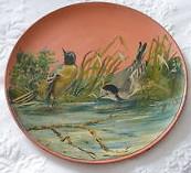 £10 Watcombe painted plaque Sep \'13