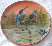£26 Watcombe painted plaque Sep \'13