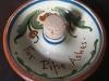 £16 Torquay Pottery Pipe-tapper bowl Dec '13