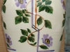 £20 12ins Watcombe vase unusual pattern July 13