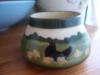 £25 Longpark Bowl with rare farmyard scene June 13
