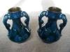 £50 Longpark Vase with Dolphin handles June 13