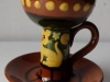 £85 Aller Vale Chamberstick with Cat decoration Nov '14