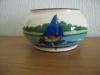 £8 Watcombe pot with unusual blue boat Nov '15