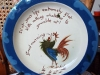 £73 Aller Vale rare 8ins cockerel plate Aug '13