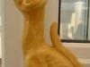£51 Aller Vale winking cat, unpopular yellow glaze, Jul '13
