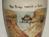 Rope Bridge, Carrick-a-Rede, Watcombe Pottery