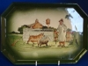 Watcombe Dressing Table Tray with Farmyard scene