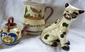 Watcombe Jug and Cat, Exeter Watering Can