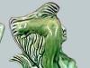 Sandygate Pottery mermaid jug
