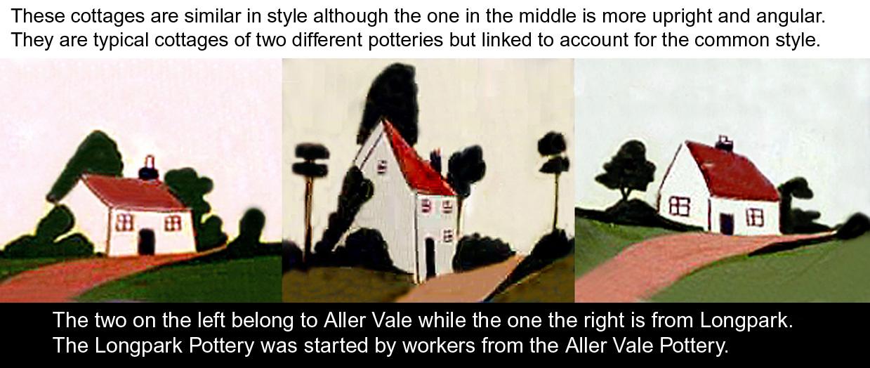 Aller Vale & Longpark cottages