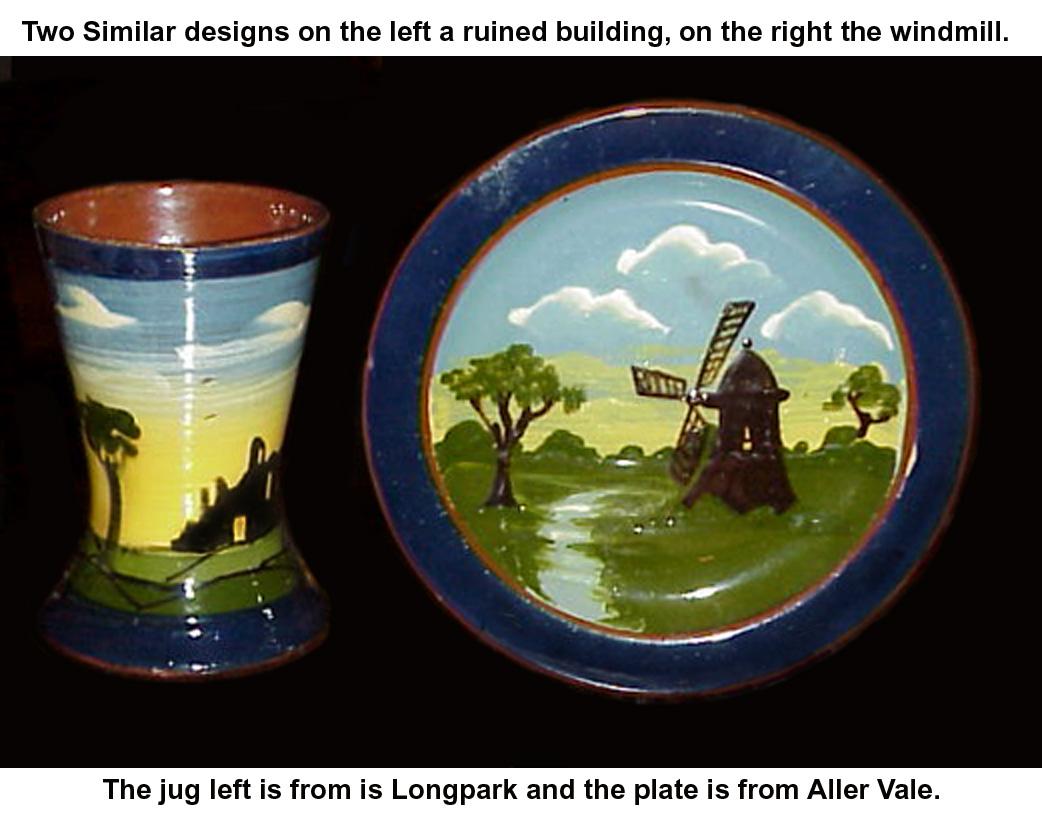 Longparl & Alller Vale ruins or windmill
