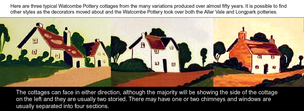 Watcombe Pottery cottages
