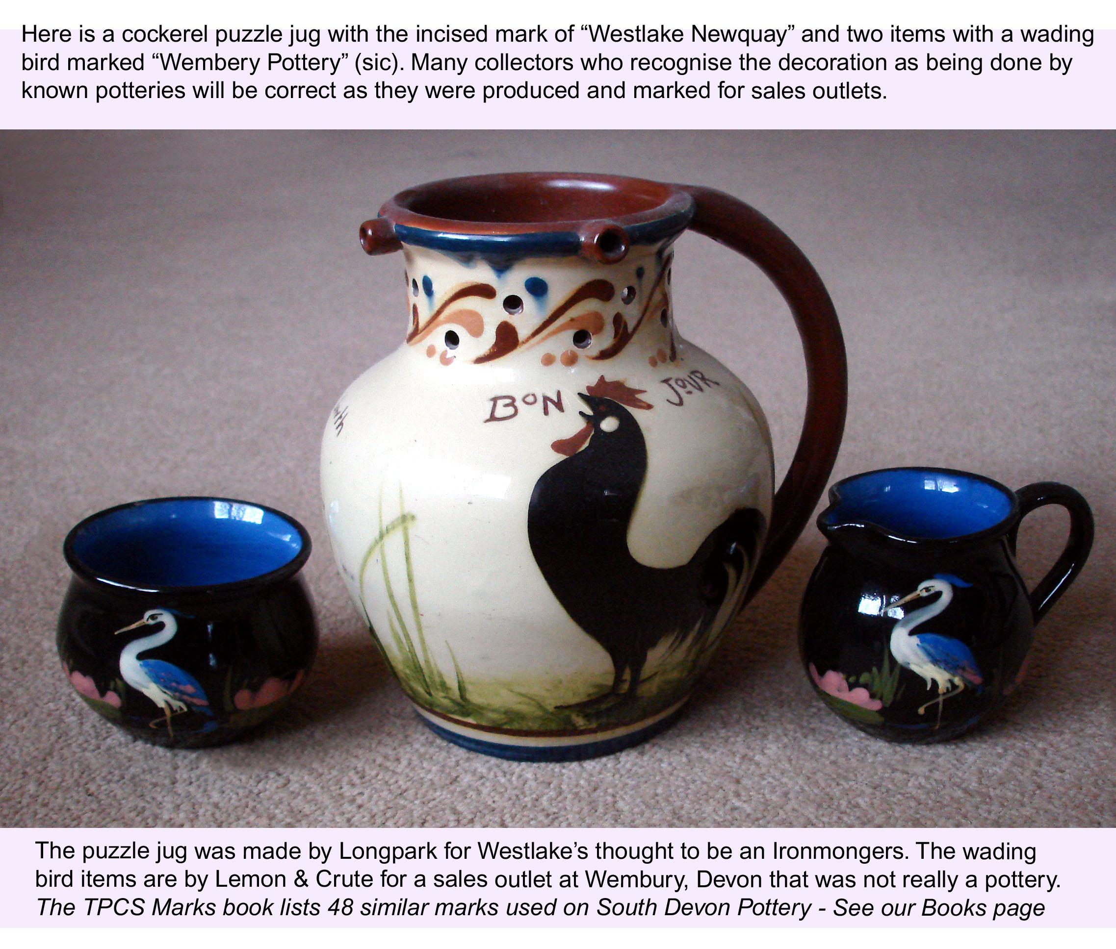 Torquay pottery marks.