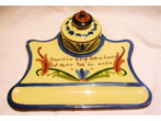 Longpark Pottery Inkwell and Stand, matching Scandies
