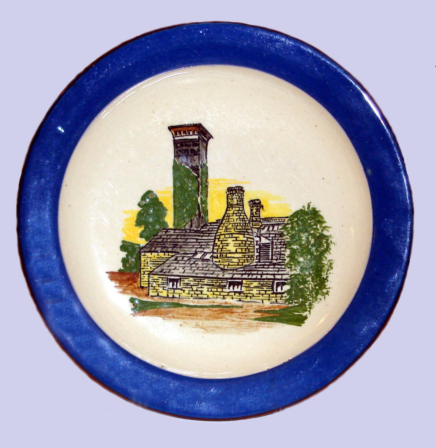 Longpark Pottery plate