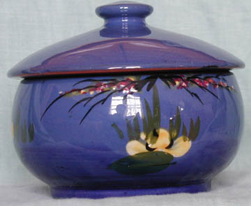 Longpark Pottery covered Bowl
