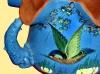 Longpark Pottery dolphin-handle-jardinier