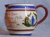 Longpark Pottery Jug with scandy and advertising motto