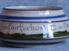 Longpark Pottery Sugar Bowl with Welsh motto