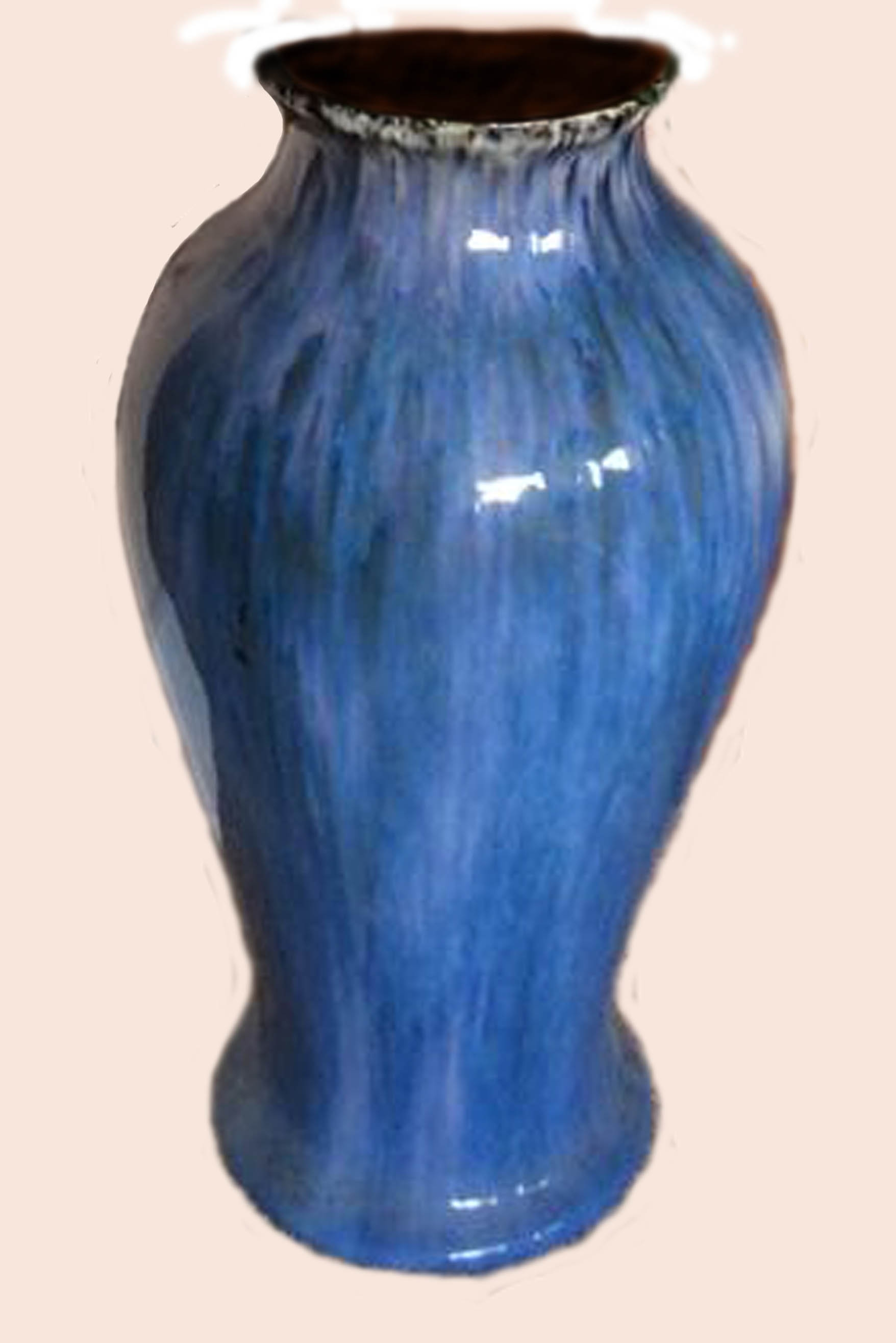 Westcountry & Candy Ware blue vase
