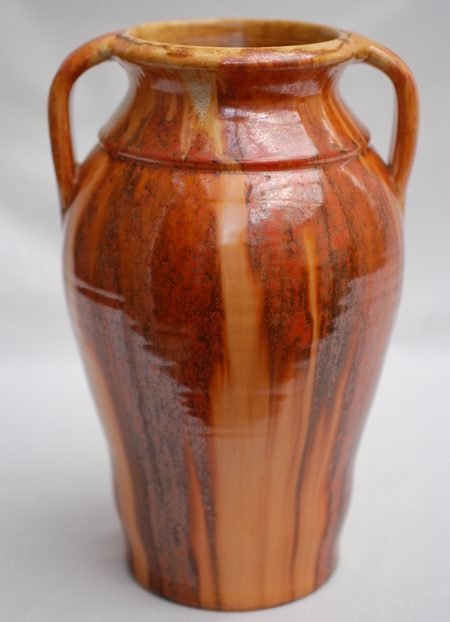 Westcountry & Candy Ware tall handled vase