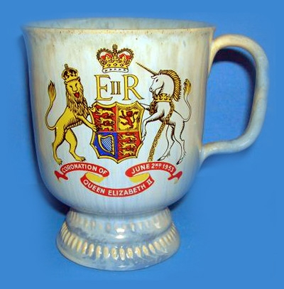 Westcountry & Candy Ware Coronation mug or cup