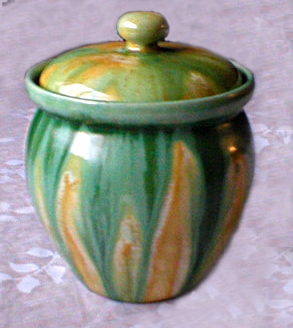 Westcountry & Candy Ware lidded container