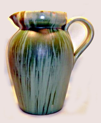 Westcountry & Candy Ware bulbous jug