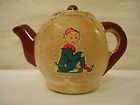 Manor Ware Teapot, plaster body