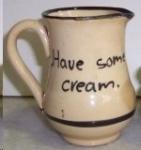 Premier Potteries Cottageware Motto