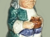 A Devonia Pottery Exeter Toby Jug