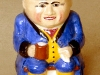 Devonmoor Pottery Toby Jug that hold a music-box