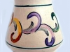 Axe Vale Pottery hand-decorated-vase