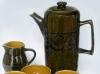 Brixham Pottery coffee-set
