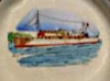 Buckfast Pottery tray-MV Kiloran