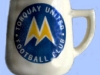 Babbacombe Pottery football mug