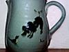 Priddoe's Studio Pottery poodle jug