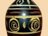 Priddoe's Studio Pottery lamp base