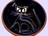 Priddoe's Studio Pottery cat pin tray