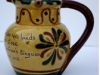 Aller Vale Pottery Puzzle Jug, Kerswell Daisy (I4) pattern