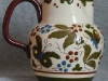 Aller Vale Pottery Puzzle Jug, Butterfly (H1) pattern