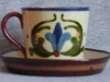 Aller Vale Cup with 'Tremblant' saucer for elderly users