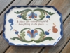 St Marychurch Pottery Dressing Table Tray